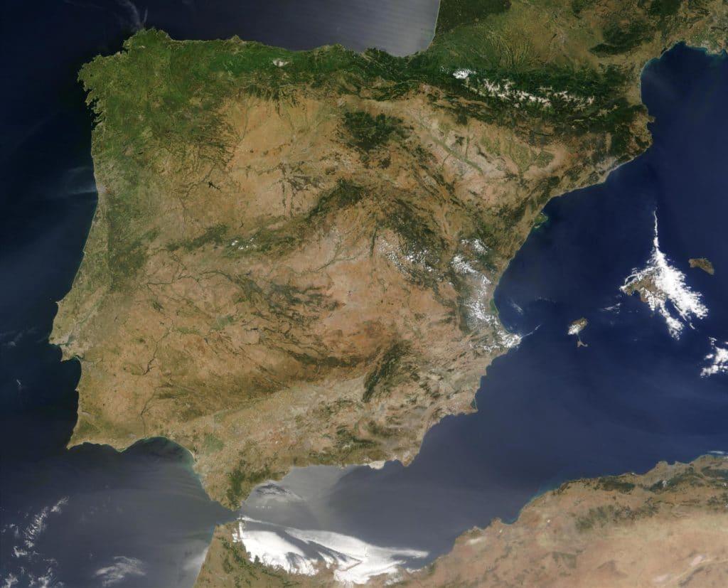 Vista aérea España
